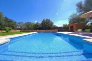 Hübsche Steinfinca-Inselmitte, privater Pool, Terrasse, Wifi, TV, AC