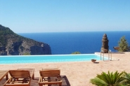 Finca mit Infinity Pool - Traumpanorama, marokkanische Chilloutarea, TV, AC, Wifi, Terrasse