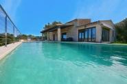Traditionelle Ferienhaus mit privatem Pool und Terrasse