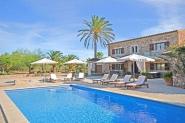 Finca für 9 Personen-4 Schlafzimmer, 30000qm, Pool, Internet