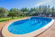 Gemütliche Ferien-Finca mit privatem Pool und großem Garten für 4 (+1) Personen