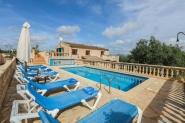 Ferienhaus-Finca für 7 (+1) Personen mit privatem Pool - in ländlich ruhiger Lage