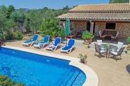 Typische Ferien-Finca im Nordwesten von Mallorca - mit privatem Pool