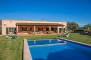 Ferienhaus-Finca mit privatem Pool, großem Garten und Klimaanlage