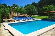 Finca mit großem Pool, Klimaanlage und WLAN