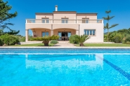 Magnificent finca with wide sea views, private pool and air conditioning