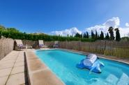 Ländliche Finca für 7 Personen mit Pool in Meeresnähe