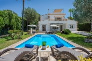 Modern villa with panoramic views and pool in Alcudia